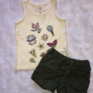 NWOT Toddler Girl Outfit